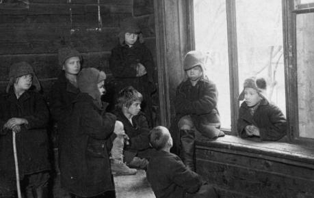 Беспризорники. 1920-е