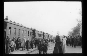 Железнодорожная станция Фаутово. Первая половина 1920-х гг. Фото: Henry Sara Collection (15b/5/2/03/024), Modern Records Centre, University of Warwick