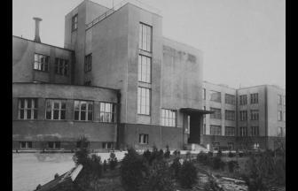 Б. Калужская, 75 (здание института). 1930–35. Фото: PastVu
