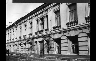 Потаповский переулок, дом № 7. 1979–1982 гг. Фото: PastVu