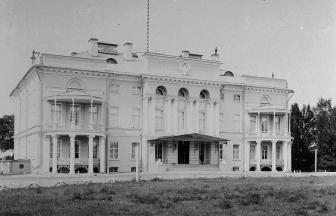 Александровский дворец в усадьбе Нескучное. 1896 г. Фото: PastVu