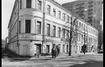 Ул. Новая Басманная, 13. 1980-е гг. Фото: PastVu
