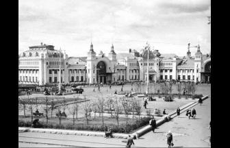 Белорусский вокзал. 1948-1950 гг.