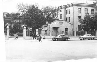 Боткинская больница в конце 1950-х годов