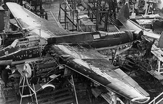 Ангары завода № 156 Наркомтяжпрома. ЦКБ-29. 1940. Фото: tupolev.ru