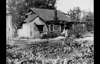 Дача в Останкино. 1910-е гг. Фото: PastVu
