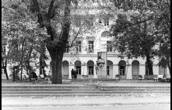 Институт иностранных языков. 1980-е гг. Фото: PastVu
