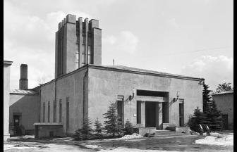 Здание московского крематория № 1. Фото: архив Общества «Мемориал»