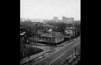 Часть Маленковской улицы, где находился дом № 40. Фото: PastVu