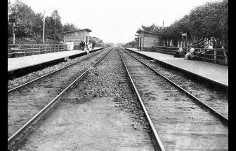 Станция Немчинов пост. 1898 г. Фото: PastVu