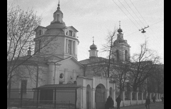 Церковь Николы в Кузнецах, 1982 г.