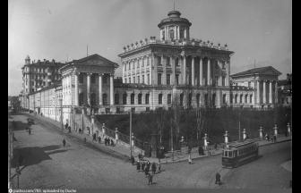Здание библиотеки имени Ленина конца 1920-х годов