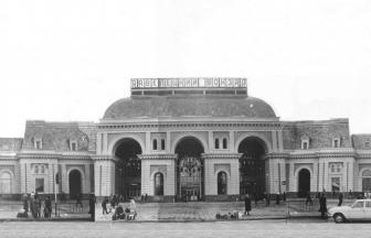 Павелецкий вокзал. 1988 г. Фото: PastVu