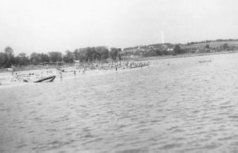 Пляж № 3 Серебряного Бора, 1968 г.