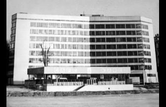 Полиграфический институт. 1981–1983 гг. Фото: PastVu