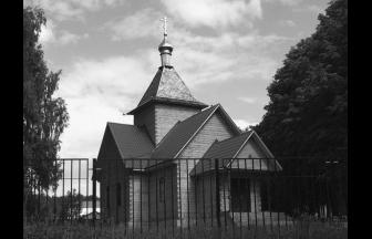 От усадьбы в Пруссах, где находилась колония, ничего не осталось, но новая (2005 г.) церковь стоит на месте старой усадебной церкви Рождества Богородицы. Фото: mitishi-blagoch.ru