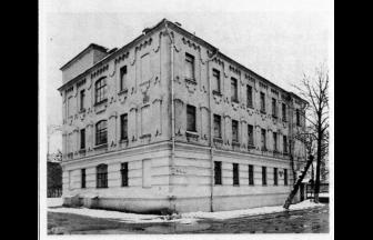 Дом 15 на Серебрянической набережной. Фото: PastVu