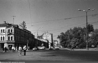 Трубная площадь. 1975. Фото: retromap.ru