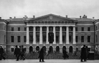 Тверская ул. Музей революции — бывший Английский клуб. 1925–28 гг. Фото: PastVu