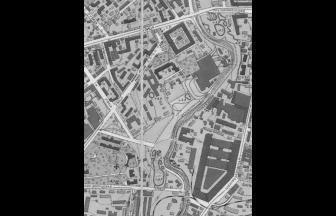 Район Матросской Тишины в 1950 г. Фото: retromaps.ru