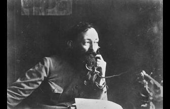 Ф.Э. Дзержинский — основатель и глава Всероссийской чрезвычайной комиссии по борьбе с контрреволюцией (ВЧК) (20 декабря 1917 — 7 июля 1918 г., 22 августа 1918 — 6 февраля 1922 г.). Фото: Российская Портретная Галерея