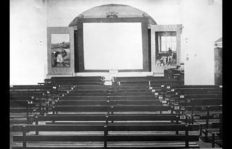 Общий вид клуба-театра 2-го женского исправительного дома. Источник: РГАКФД