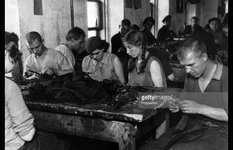 Заключенные Таганской тюрьмы, 1920-е гг. Фото: gettyimages.com