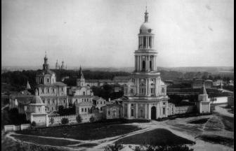 Спасо-Андроников монастырь. 1881 г. Фото: Найденов Н.А. Москва. Соборы, монастыри и церкви (альбом)
