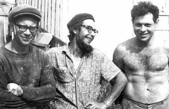 К. Бабицкий, И. Хохлушкин, А. Якобсон. 1972. Фото: архив общества «Мемориал»