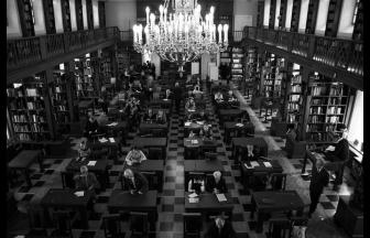 Читальный зал отдела рукописей библиотеки имени Ленина. Фото: РГБ