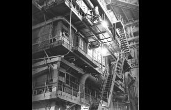 Прямоточный котел. Разработан заключенными специалистами ОТБ-11 во главе с Л. Рамзиным. 1933. Фото: архив Музея энергии