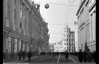 Улица Куйбышева (Ильинка) в 1970-73 гг. Фото:  PastVu