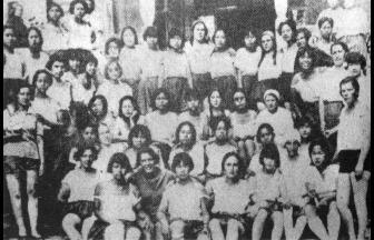 Студентки и сотрудницы Университета трудящихся Китая. 1926 г. Фото: Wikipedia