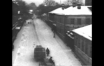 Вид Гендрикова переулка. «Дом Маяковского» — справа