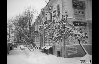 Сохранившийся дом «немецкой» застройки на Хорошевском шоссе