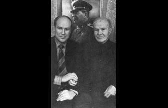 В. М. Молотов в старости