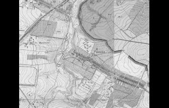 Фрагмент Генерального плана Москвы 1952 г. Источник: retromap.ru