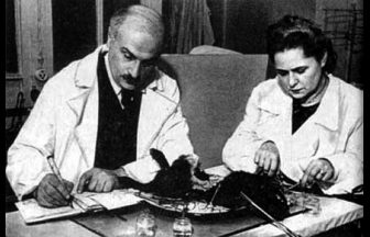Н. Г. Клюева и Г. М. Роскин. Фото: knizgkin-dom.livejournal.com