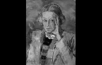 А. Ф. Софронова. Портрет Н. А. Кастальской. 1950-е гг.