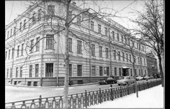 Библиотека им. К.Д. Ушинского. Открыта в знании Наркомпроса в 1926 г. Фото: old.gnpbu.ru