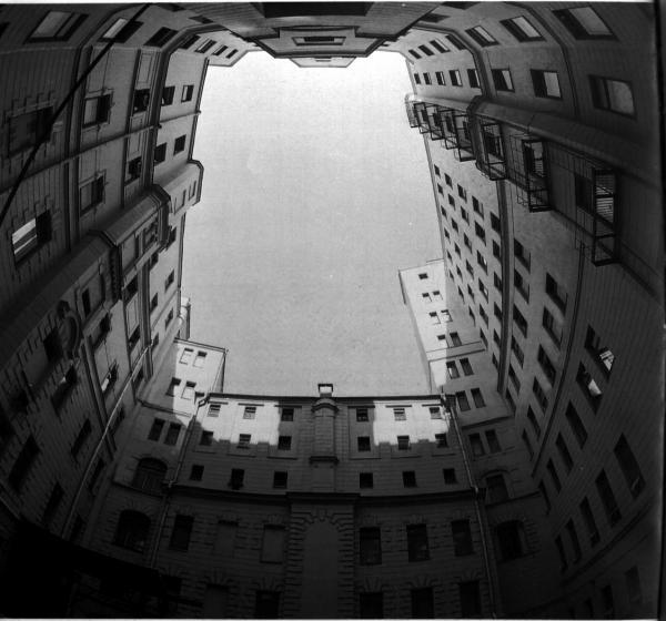 Внутренний двор Лубянки. Фото: архив общества «Мемориал»