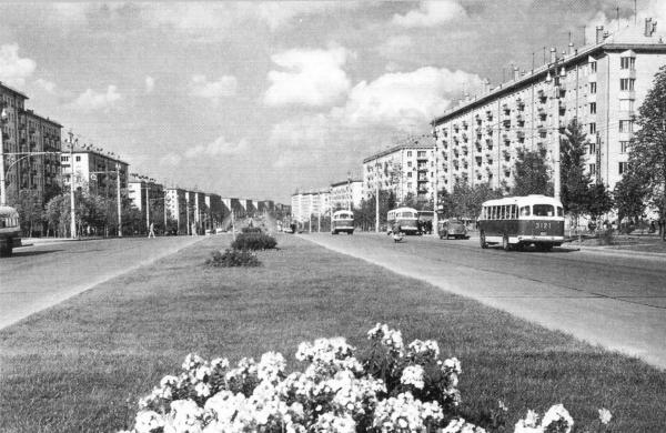 Ленинский проспект. Фото: PastVu