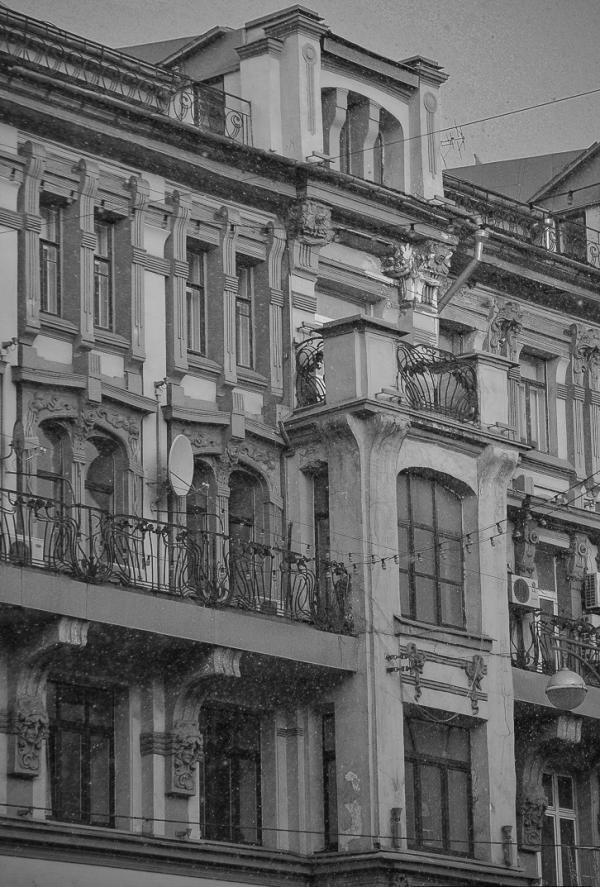 Доходный дом Бахрушиных. Тверская, 12. Современный вид. Фото: deadokey.livejournal.com