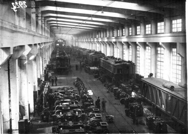 Электромашиностроительный завод «Динамо». 1930-е гг. Фото: PastVu