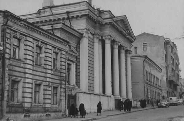 Московская хоральная синагога. 1959 г. Фото: retromap.ru