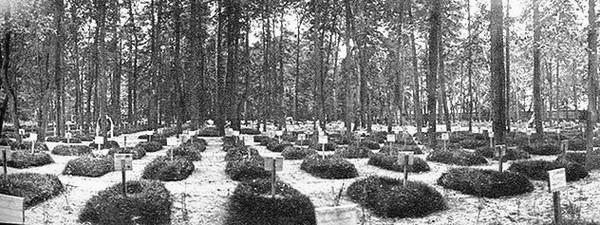 Братское кладбище. Фото: архив Общества «Мемориал»