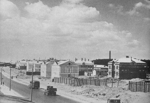 Строительство домов на Хорошевском шоссе