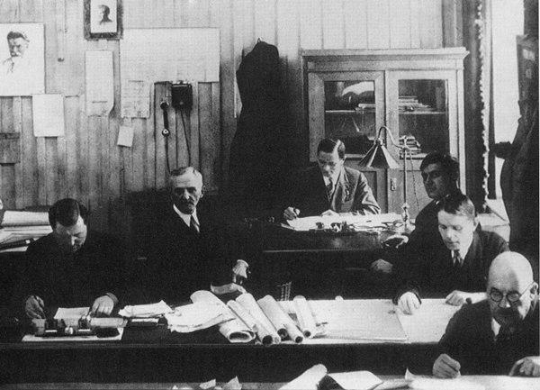 Конструкторское бюро, 1930-е гг.
