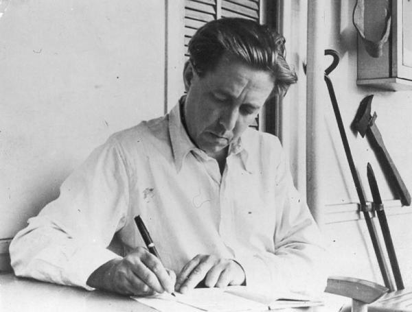Александр Солженицын после освобождения. Конец 1950-х – начало 1960-х. Фото: архив Общества «Мемориал».