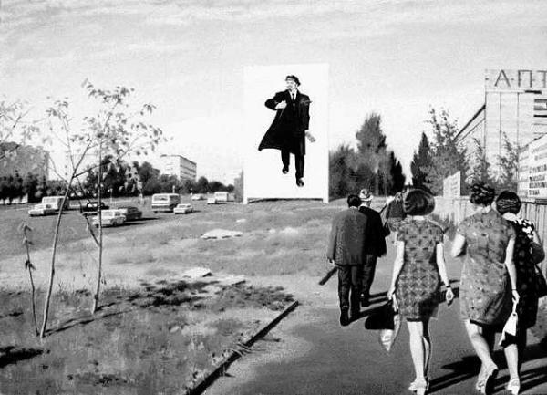 Улица Красикова. Эрик Булатов. 1977